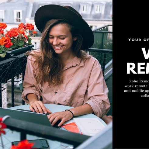Work remotely from home-Encaptechno