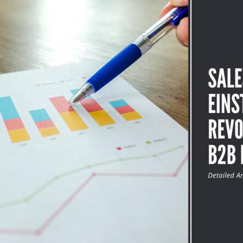 Salesforce Einstein revolutionizing B2B Market