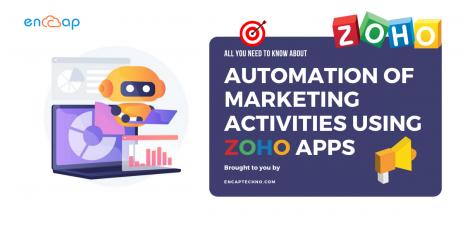 Automation of Marketing Activities Using Zoho Apps - Encaptechno