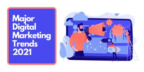 Major Digital Marketing Trends 2021 - Encaptechno