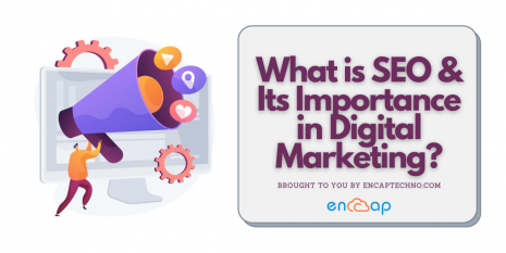 SEO and its importance in Digital Marketing - Encaptechno